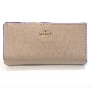 Kate Spade Braylon Patterson Drive Leather Wallet